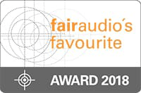 fairaudio favourite Siegel - Award 2018